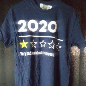 "BNWT Unisex ""2020 Very Bad"" T-Shirt"